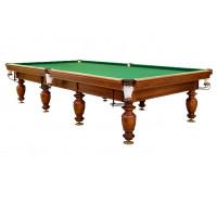 Бильярдный стол Виконт 8ф натуральный камень 25 мм борта ольха уцененный