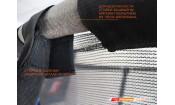 Батут GLOBAL 8 футов с внутренней сеткой и лестницей