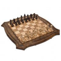 Шахматы + Нарды резные Роял 2, 60 Ohanyan