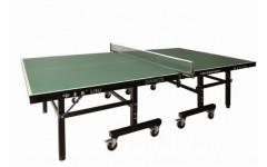 Теннисный стол LIJU, 22 мм, колеса 100 мм, зеленый DW9022