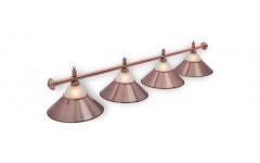 Светильник Alison Red Bronze 4 плафона