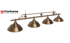 Светильник Fortuna Verona bronze antique  4 плафона