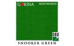 Сукно Gorina Wentworth Fast Snooker 193см Snooker Green