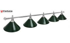 Светильник Fortuna Prestige Silver Green 5 плафонов