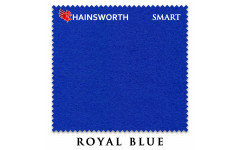 Сукно Hainsworth Smart Snooker 195см Royal Blue