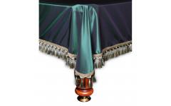 Покрывало Венеция 12фт шёлк зеленое