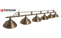 Светильник Fortuna Verona bronze antique  6 плафонов
