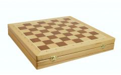 Шахматный ларец Woodgames Бук, 50мм