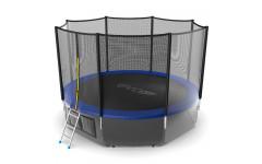 Батут EVO JUMP External 12ft (Blue) + Lower net
